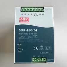MW Mean Well SDR-480-24 Alimentatore ad impulsi