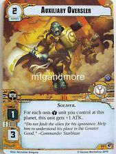 Warhammer 40000 Conquest LCG-Auxiliary Overseer #091 - What lurks below