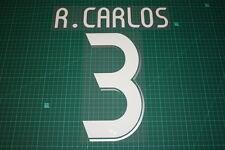 Real Madrid 06/07 #3 R. CARLOS Awaykit / 3rd Awaykit Nameset Printing
