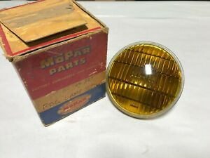 1940 1941 1942 1946 1947 1948 PLYMOUTH DODGE DESOTO CHRYSLER NOS FOG LAMP LENS