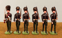 Ducal 282A Royal Scots Fusiliers 1937 Sergeant & 5 Other Ranks Marching 54 mm