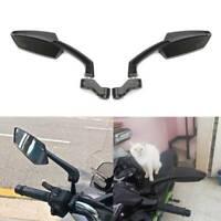 For Honda Grom Kawasaki Suzuki Yamaha Black Motorcycle Rearview Side Mirrors US