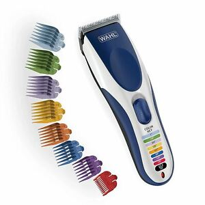 Wahl Color Pro Cordless Rechargeable Hair Clipper & Trimmer – Easy Color-Coded G