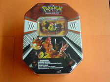 Pokemon Black & White - 2011 Emboar Evolved Battle Action Tin Factory Sealed