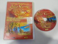 JULIO VERNE VIAJE AL CENTRO DE LA TIERRA + LA JANGADA DVD ESPAÑOL ENGLISH FRANCS
