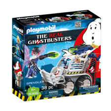 Playmobil SPENGLER avec cage Voiture-Ghostbusters 9386