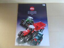 787K Siku Catalogue de 2002 Série Agricole 24 Pages