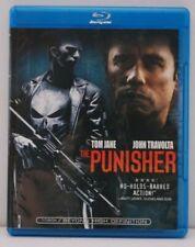 The Punisher (2004) us region A BLU RAY Tom Jane John Travolta Marvel