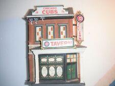 New ListingCubs Tavern Christmas In The City Dept 56 Chicago Cubs No Original Box