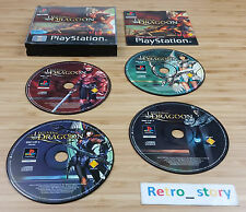 Sony Playstation PS1 The Legend Of Dragoon PAL