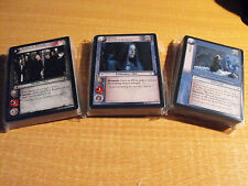 LORD OF THE RINGS TCG ENTS OF FANGORN COMPLETE SET OF 120 CARDS