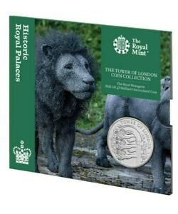 UK 2020 The Tower of London - The Royal Menagerie £5 Coin Pack - Five Pound