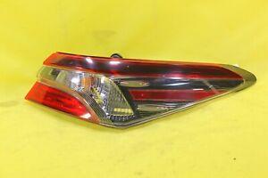 🚇 18 19 20 21 Toyota Camry SE LE Right Passenger Tail Light OEM (BLACK) *NICE!*