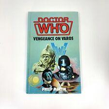 More details for doctor who vengeance on varos 1988 hardback book wh allen target not ex library