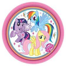 8 Pezzi My Little Pony Piatti di Carta Ragazze Festa di Compleanno Crepuscolo