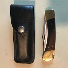 Vintage Buck Knife 110,Two Dot, 1974-80, Folding Lock Blade, Made In USA