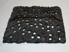 JENN AIR ELECTRIC STOVE LAVA ROCK GRILL PLATE CAST IRON WITH HANDLE