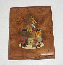 Birdseye Maple Cigarette Case Box – Made in France