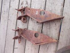 Allis Chalmers Styled Wc Tractor Ac Pair Set Front Cultivator Mount Brackets Amppi