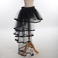 Victorian Crinoline Petticoat Gown Bustle Tutu Skirt Dress Underskirt Costume