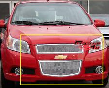 Fits 2009-2011 Chevy Aveo 5 Door Hatchback Stainless Steel Mesh Grille T255
