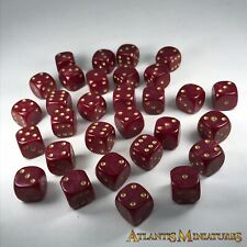 Unusual Playing Dice 14mm - Ideal Warhammer 40K / LOTR / Age of Sigmar D5