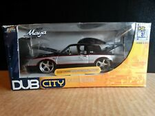 JADA 1987 Buick Grand National Regal Dub City 1:24 Scale Diecast Silver Car GNX