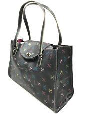 MAXX NEW YORK Purse Handbag Signature PVC Large Carryall With Coin Purse