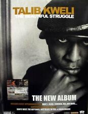 TALIB KWELI 2004 beautiful struggle promotional poster ~MINT condition~KANYE~!