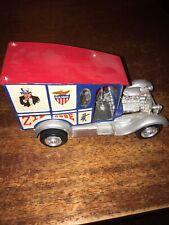 Vintage Model Souped up postal truck missing one wheel