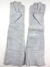 Long Cuff Leather Welding Protective Gloves Welder Fireproof Waterproof