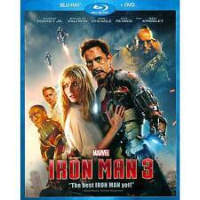 Iron Man 3 (Blu Ray) no dvd copy