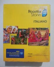 Rosetta Stone Version 4 Italian Level 1 (Mac/PC) Brand NEW! Free USA Shipping