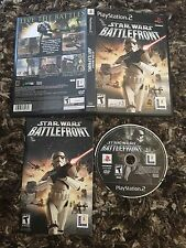 PS2 Star Wars Battlefront 1 CIB Complete