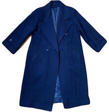 Saks Fifth Ave 100% Virgin Wool Overcoat Size 14P