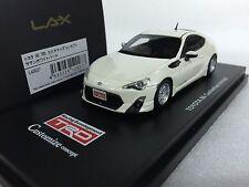 1/43 LA-X L43027 TOYOTA 86 GT86 TRD CUSTOMIZE CONCEPT WHITE model car KYOSHO