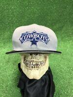 New Era Dallas Cowboys 9fifty Gray W Black Leather Bill SnapBack Hat Cap
