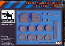 Blackdog Models 1/35 PANTHER TANK WHEELS Resin Detail Set