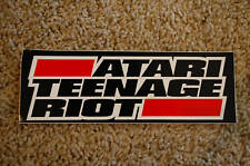 Atari Teenage Riot Sticker (S209)