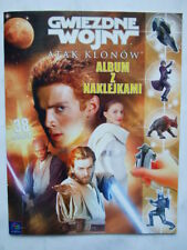 ►► Rare Polish book with STICKERS STAR WARS Attack of the clones magazine Poland