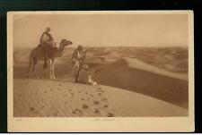 1904 Cairo Egypt RPPC Cover Desert Bedouins Camel Pictu