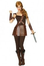 Déguisement Femme Gladiateur M/L 40/42 Costume Adulte Gladiatrice Romaine