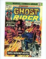 Ghost Rider #10, VF- 1977,  Marvel Value Stamp is Intact!