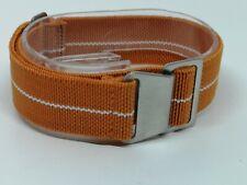 20mm Military style Orange Watch Strap parachute elastic nato