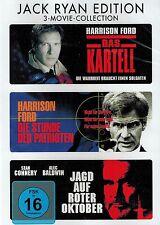 DVD-BOX NEU/OVP - Jack Ryan Edition - 3-Movie-Collection