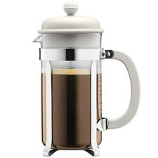Bodum Caffettiera French Press Coffee Maker - White - 1.0 Litres, 8 Cup Capacity