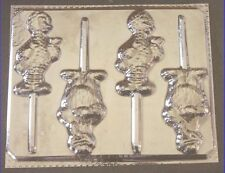 Big Bird and Cookie Monster Chocolate Lollipop Candy Mold #128