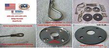 "1968 1974 MoPar Stainless Steel Hood Pin Kit 18"" NEW MoPar"