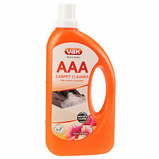 Vax AAA Improved Carpet Formula Cleaning Machine Woolsafe Solution Shampoo 750ML
