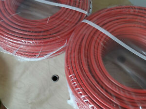 Stromkabel H07V-K Batteriekabel Meterware rot schwarz    25mm, 35mm, 50mm
